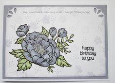 Twinks Stamping | Stampin' Up! Demonstrator: Birthday Blooms in Wisteria Wonder