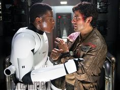 Finn and Poe Dameron | The Force Awakens