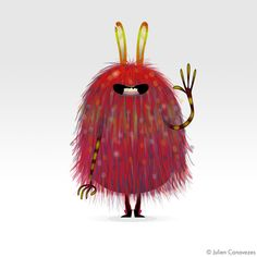 Very cute monsters Pet Monsters, Funny Monsters, Cartoon Monsters, Little Monsters, Monster Illustration, Character Illustration, Illustration Art, Monster Drawing, Monster Art