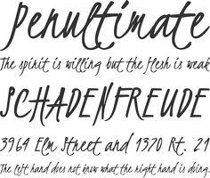 Kristi Font Phrases