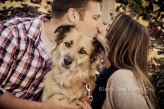 This is so cute.  Engagement Photos - Black Dog Photo Co.