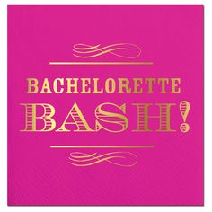 Bachelorette Bash Bev Napkins - Click image to Purchase! Bachelorette Party Invitations, Beverage Napkins, Invitation Wording, Event Planning, Gifts, Celebrations, Southern, Party Ideas, Image