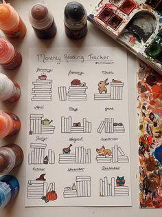 Bullet Journal Bookshelf, Bullet Journal Notebook, Bullet Journal Inspo, Bullet Journal Spread, Bullet Journal Layout, Bullet Journal Ideas Pages, Bullet Journal Reading Log, Bullet Journals, Bullet Book
