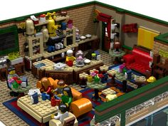 LEGO Ideas - The Central Perk Coffee of Friends MOC