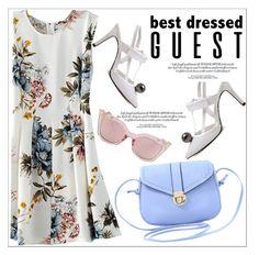 """Best Dressed Guest: Winery"" by teoecar ❤ liked on Polyvore featuring napa, winerywedding, bestdressedguest and vineyardwedding"