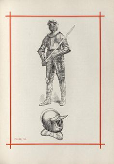 Pictorial and descriptive record of the origin and development of arms and armor : Brett, Edwin J. (Edwin John), 1828-1895 : Free Download, Borrow, and Streaming : Internet Archive Knights Helmet, Cleveland Museum Of Art, Neo Traditional Tattoo, Pencil Art Drawings, Knights Templar, Occult, Warfare, Tattoo Inspiration, Blackwork