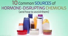 Endocrine disruptors known to interfere with development and reproduction are common in personal care products and plastics. http://articles.mercola.com/sites/articles/archive/2015/07/15/10-common-sources-endocrine-disruptors.aspx
