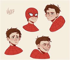 Spidey boy by - Visit to grab an amazing super hero shirt now on sale! Marvel Art, Marvel Avengers, Spiderman Art, Spider Verse, Marvel Memes, Marvel Cinematic Universe, Dc Heroes, Character Design, Sketches