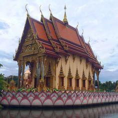**Wat Plai Laem - Ko Samui, Thailand Ko Samui, Samui Thailand, Travel Around The World, Around The Worlds, Most Beautiful, Beautiful Places, Surat Thani, Big Ben, Trip Advisor