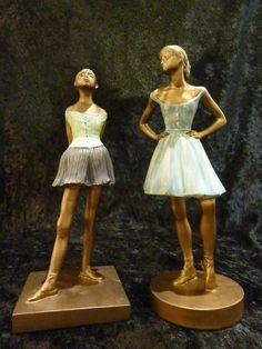Degas inspired statues