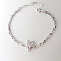 Bratara argint cu stea // Like a Star Stars, Bracelets, Silver, Jewelry, Bangles, Jewellery Making, Money, Arm Bracelets, Jewelery