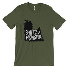 Shih Tzu Monster - Unisex Tee