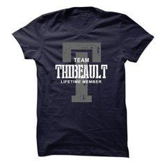 Awesome Tee Thibeault team lifetime member ST44 Shirts & Tees
