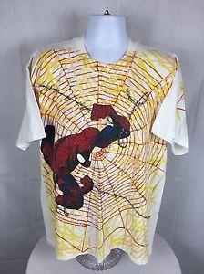 1405020a4 Rare VTG 1997 Marvel Comics Spider-Man Short Sleeve T-Shirt Size XL | eBay