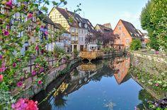 #France,+#maisons,+#colmar,+#fleurs,+#rivière