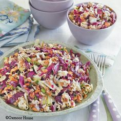 Gooseberry Patch Recipes: Overnight Oriental Salad from Potluck Family Favorites