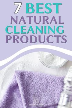 The best natural cleaning products for a healthy clean home! #handlinghomelife All Natural Cleaning Products, Natural Cleaning Recipes, Diy Cleaning Products, Deep Cleaning, Spring Cleaning, Cleaning Hacks, All Natural Cleaners, Best Cleaner, Green Living Tips