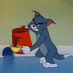 35 best Ideas for funny comics disney Tom And Jerry Memes, Tom And Jerry Cartoon, Tom Cartoon, Cartoon Icons, Cartoon Memes, Funny Memes, Reaction Pictures, Funny Pictures, Morning Mood