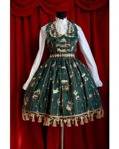Infanta Amusement Park Jumper Dress 5 Colors $91.99-Cotton Lolita Dresses - My Lolita Dress