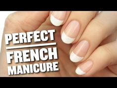 Here's a Brilliant Trick to Paint a Perfect French Manicure Every Time