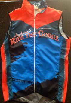Jackson's Ride the Gorge cycling vest Cycling Vest, Wellness Center, Jackson, Foundation, Athletic, Zip, Fashion, Moda, Athlete