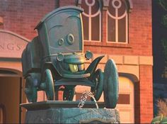 Who is the founder of Radiator Springs?