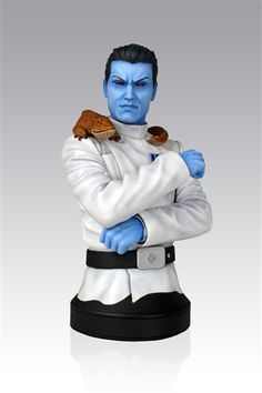 Gentle Giant Star Wars Grand Admiral Thrawn Mini-Bust