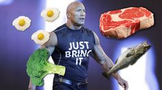 The Rock revealed what he eats each day and it's absolutely obscene