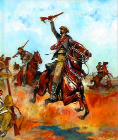 Charge of the Boer commando cavalry Military Art, Military History, War Novels, Cartoon Photo, Horse Drawings, Quote Backgrounds, British Colonial, Historical Pictures, My Heritage