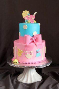 Baby Shower via Cake Central.
