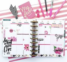 CLASSIC HAPPY PLANNER - layout idea - cute and simple