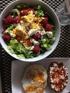 Healthy Food, Healthy Recipes, Cobb Salad, Food To Make, Lunch, Goals, Homemade, Dinner, Healthy Foods