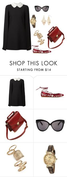 """""""summer outfit"""" by juliabartyzel on Polyvore featuring moda, Valentino, Etro, Linda Farrow, Topshop, Coach i LC Lauren Conrad"""