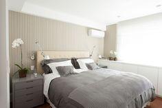 quarto de casal - quarto - bedroom - Studio 021 Arquitetura - Wallcovering