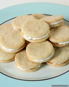 Pink Grapefruit Sandwich Cookies - made these without the icing (with ...