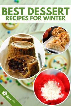 There's something about baking in the winter that warms the soul. With these warm winter dessert recipes, you can bake the cold away this season. Whether you want easy winter dessert recipes, healthy winter dessert recipes, or festive winter dessert recipes, there's something for you. Pick one recipe or pick 100, and start your holiday baking as soon as the first cold breeze hits you. #holidaybaking #winterdesserts Hot Desserts, Small Desserts, Winter Desserts, Best Dessert Recipes, Delicious Desserts, Yummy Food, Chocolate Bread Pudding, Bread And Butter Pudding, Garden Vegetable Recipes