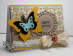 Here's a beautiful card from SRM Design Team member Julie Lacey featured on today's Paper Crafts Blog!