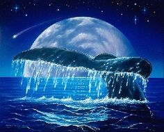paintings of whales | dolphin paintings, whale paintings,hawaii seascapes, hawaiian ...