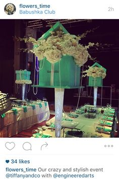 Bridal Showers, Retirement, Birthday Ideas, Tiffany, Wedding Flowers, Centerpieces, Party Ideas, Wedding Ideas, Baby