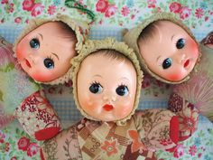 Odd one Out at Fine and Dandy Doll Toys, Baby Dolls, Toy Trunk, Passion Deco, Old Dolls, Vintage Dolls, Antique Dolls, Little Doll, Doll Face