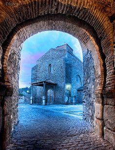 Buitrago de Lozoya, Madrid province. Church of Santa Maria del Castillo. Spain | Flickr: Intercambio de fotos