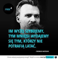Im wyżej szybujemy - Moc² - Moc Kwadrat Swimming Motivation, Life Motivation, Motivational Quotes, Inspirational Quotes, Motto, Powerful Words, Poetry Quotes, Wise Words, Einstein