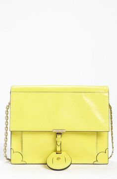 Jason Wu Yellow Leather Crossbody Bag