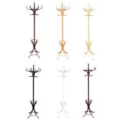 Coat Stand Coat/Hat/Jacket/Umbrella Floor Standing Rack Clothes Hanger Hooks | eBay