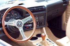 BMW E30 convertible custom interior
