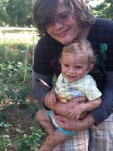 Families that Sow Together Grow Together.  Introduce your children to gardening to establish roots and bear fruit.
