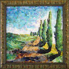 smalti mosaic tree - Google Search