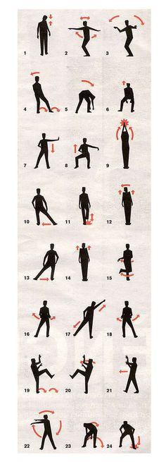 How to dance Thriller Michael Jackson's song - Graphic Design Dancing Guide