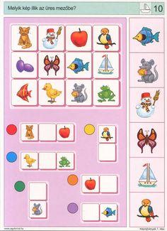 Logico --Képrejtvények 1 - Katus Csepeli - Picasa Webalbumok Free Preschool, Preschool Worksheets, Montessori Activities, Preschool Activities, Visual Perception Activities, Sequencing Cards, File Folder Activities, Coding For Kids, Educational Games For Kids