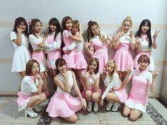 Simply K-Pop_WJSN_Secret_160908 Yuehua Entertainment, Starship Entertainment, Bridesmaid Dresses, Prom Dresses, Formal Dresses, Wedding Dresses, Wjsn Luda, Xuan Yi, Kim Hyun